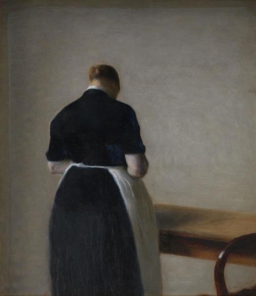 Вильгельм Хаммерсхёй, Vilhelm Hammershøi (15 мая 1864-1916) Дания Вильгельм родился в семье купца, в Копенгагене 15 мая 1864 г. Он был старшим из 3 детей, его брат Свин в последствии стал