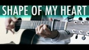 SHAPE OF MY HEART Sting Lucid Dreams⎪Acoustic guitar fingerstyle