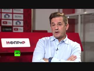 Новый наставник «Спартака» в интервью RT. Я здесь, потому что со мной захотели работать футболисты.