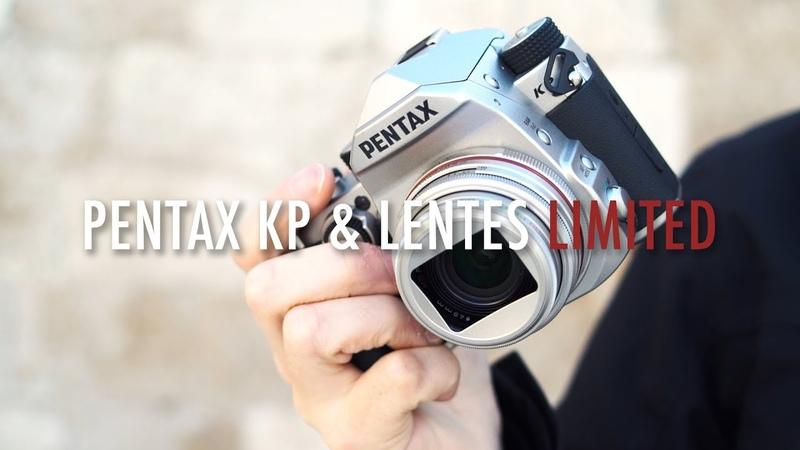 Cámara Pentax KP objetivos serie Limited 21mm f3,2, 35 f/2,8 Macro y 70 f2,4 | David López