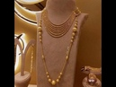 Latest Light weight gold Chain Pendant Necklaces Designs