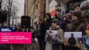 В Киеве митингуют под посольством мордорской Грузии