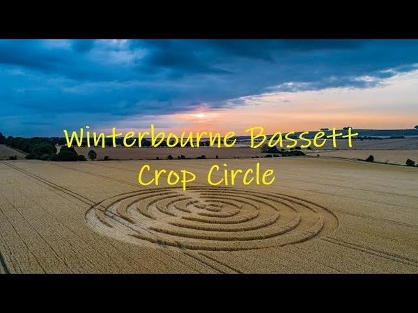 Crop Circle Winterbourne Bassett 2018
