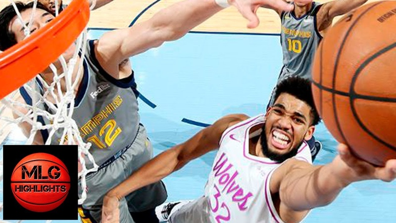 Minnesota Timberwolves vs Memphis Grizzlies Full Game Highlights March 23 2018 19 NBA Season