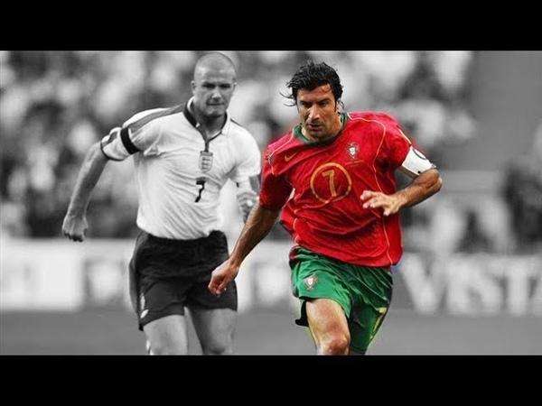 Luis Figo ● Craziest Skills Goals Ever ● ||