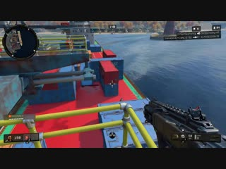 Check the cranes upon landing cargo docks. Black Ops 4