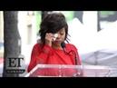 Taraji P. Henson Gets Emotional During Walk Of Fame Speech | FULL SPEECH