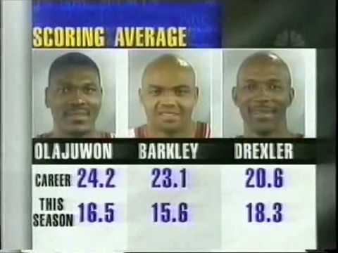 Chicago Bulls vs Houston Rockets 05 04 1998