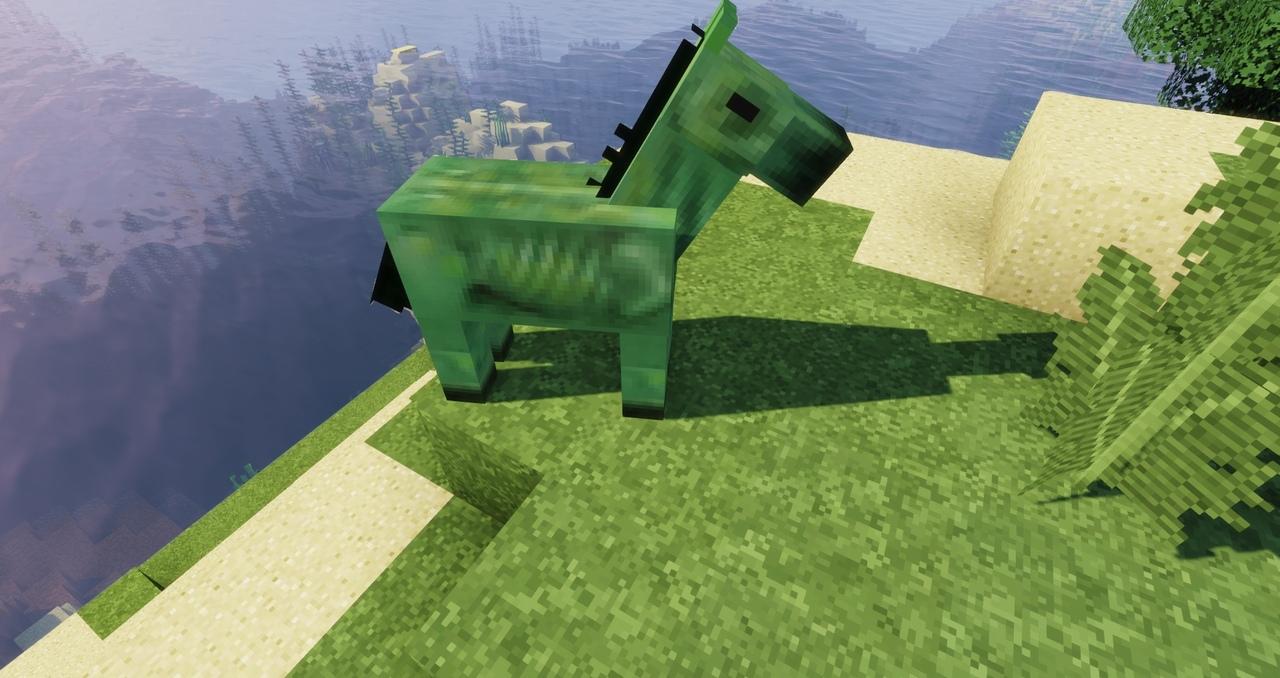 лошадь зомби в Minecraft