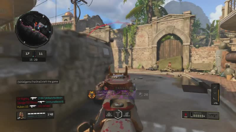 What a clusterf— this fight turned out to be. Black Ops 4