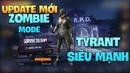 Pubg Mobile   Update mới, Trải nghiệm Zombie bản chính thức   Boss Tyrant siêu khỏe 1 mình cân 4