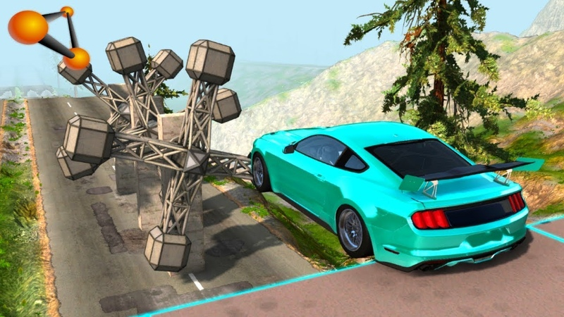 BeamNG.drive - Gear Style Against Cars Crashes 2