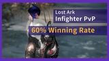 Lost Ark PvP - Infighter vs Destroyer Blaster Battle Master All Kill 60 Winning Rate