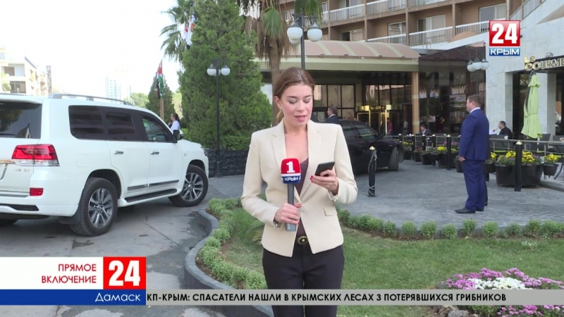 Прямое включение из Дамаска: Крым и Сирия начнут сотрудничество в судоходстве и торговле
