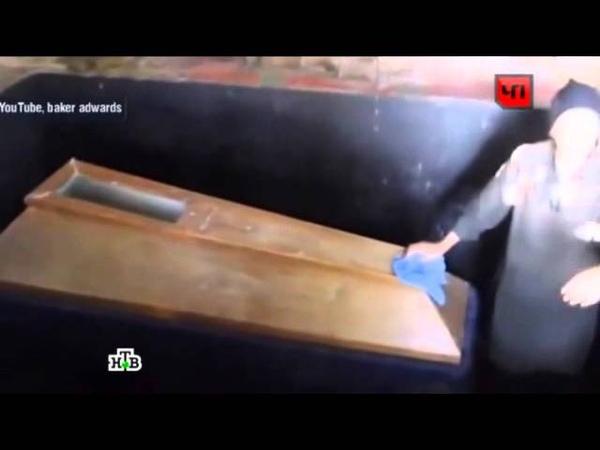 Женщина в Грузии показала гроб с мумией собственного сына