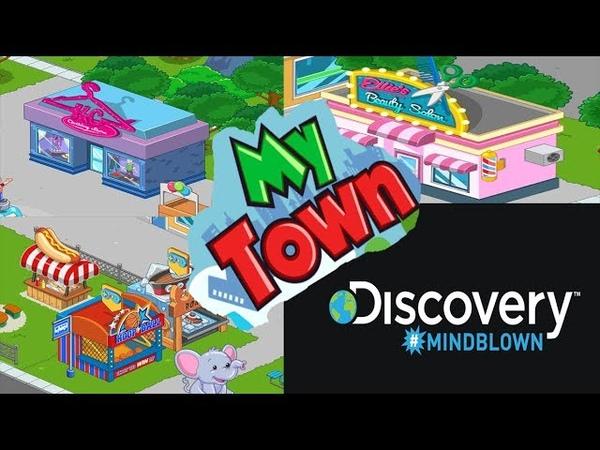 My Town Discovery Май Таун Дискавери Прогулка в магазин одежды и парикмахерскую