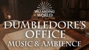 Harry Potter Music Ambience Dumbledore's Office Office Sounds for Sleep Study Relaxing