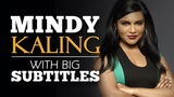 LEARN ENGLISH MINDY KALING Why Not Me (English Subtitles)