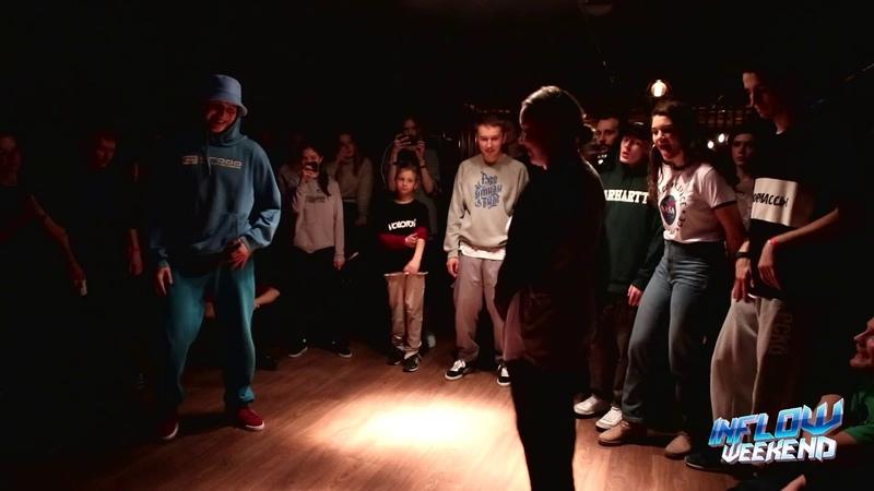 INFLOW WEEKEND Hip-hop pro 7toSmoke A-jay vs Ju (win)