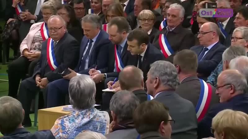 Макрон идет в народ: после протестов «желтых жилетов» во Франции начались национальные дебаты