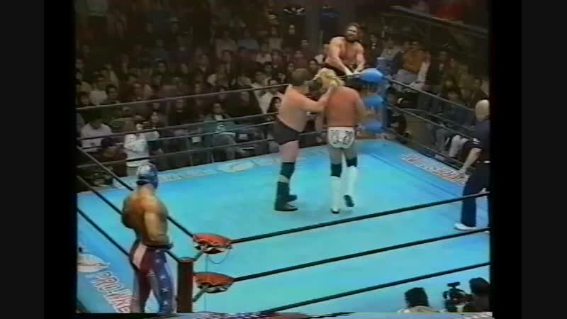 1994.02.19 - Stan Hansen/John Nord vs. Johnny Ace/The Patriot [JIP]