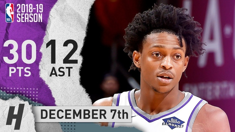 De'Aaron Fox Full Highlights Kings vs Cavaliers 2018 12 07 30 Pts 12 Ast 2 Rebounds