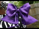 How to Sew and Make a Fabric Satin Bow Perfectly from beginning to end