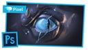 Рисуем глаз дракона в Adobe Photoshop