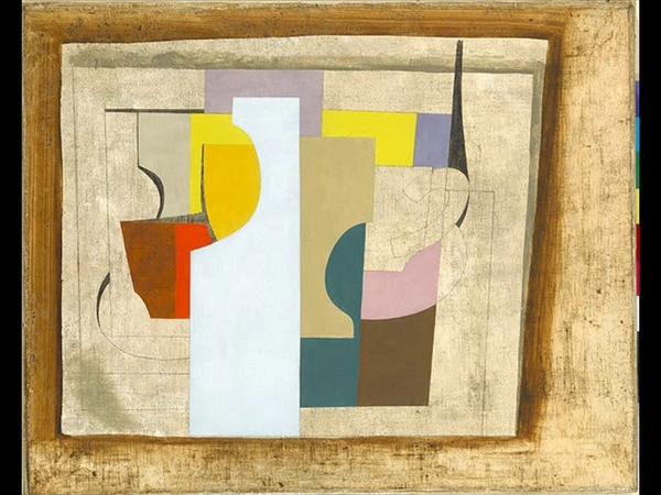 ESSAI 784. Le peintre Ben Nicholson et le musicien Philippe Lauters.