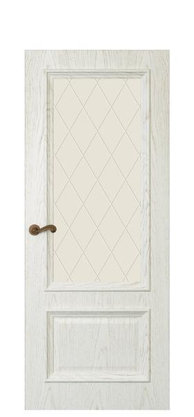 Дверь Магнолия 2 Дуб белый жемчуг