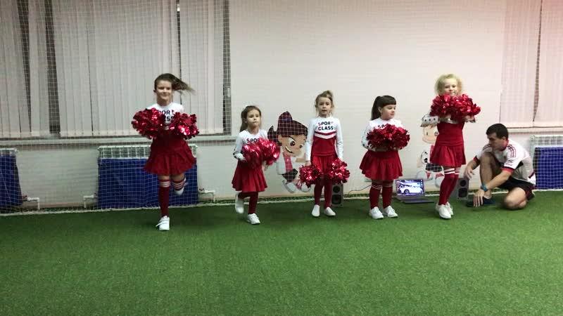 Черлидинг в Sport Class рук Киселева Кристина