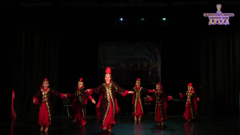 Олеана Персия_Aziza 2018_Oriental Folk малая группа