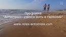 Программа Антистресс / Телесные практики / Релакс-медитация - энергия моря