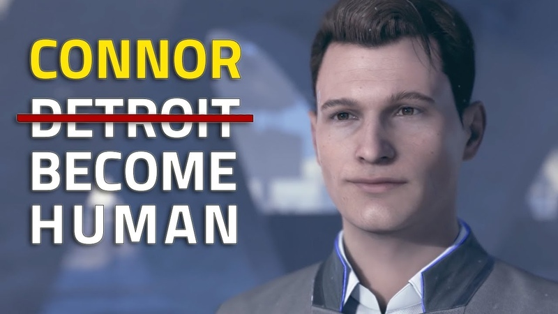 CONNOR BECOMES HUMAN - HUMAN EMOTION SCENES