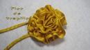 DIY Como hacer una flor de trapillo DIY How to make a flower of trapillo