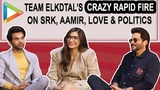 HILARIOUS Team ELKDTAL's EPIC Rapid Fire on Shah Rukh Khan, Aamir Khan, Love, Social Media