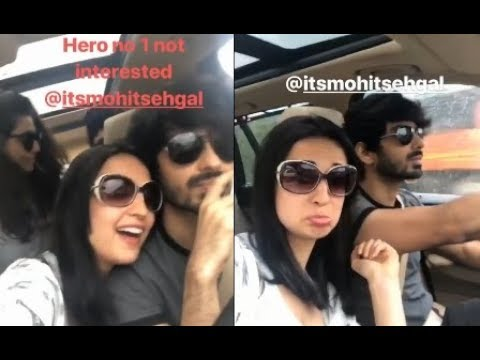 Sanaya Irani Singing Hero no. 1 song to her Husband; But why Mohit Sehgal is not interested??