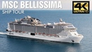 MSC Bellissima Tour 4K