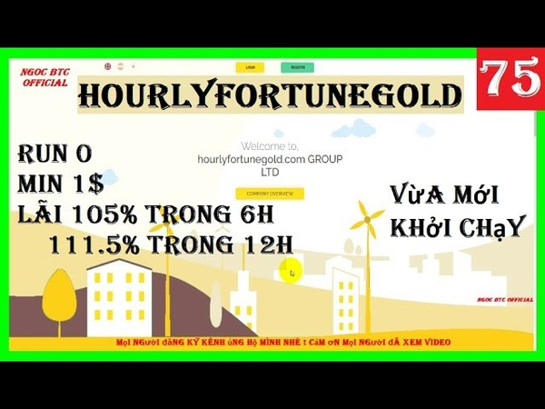 Hourlyfortunegold | New Hyip Site Hourly Run 0 - Min 1$ - Lãi Trong 6H