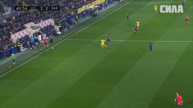 «Вильярреал» — «Барселона». Гол Карла Токо-Экамби