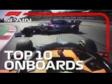 Tension At Haas, Norris and Stroll Crash And The Top 10 Onboards | 2019 Spanish Grand Prix