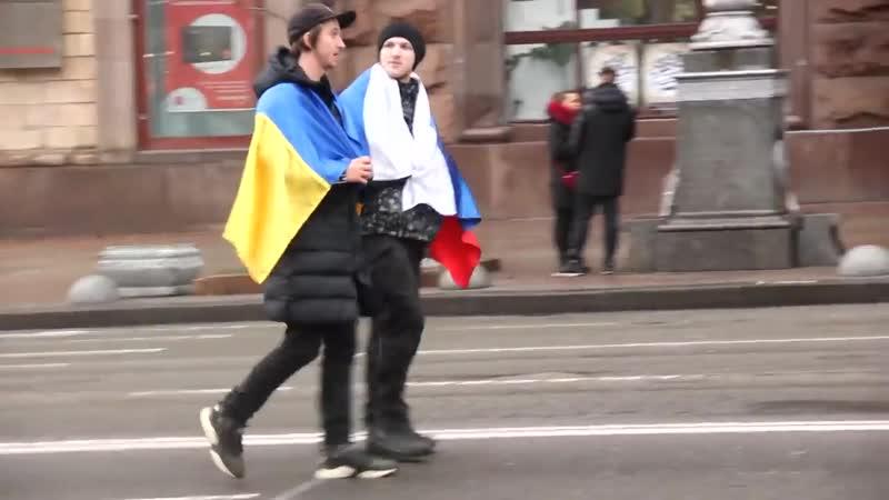 как притесняют Русских на украине (Российский флаг на украине) россия украина киев
