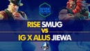 RISE Smug G Balrog VS IG X ALUS Jiewa Akuma Game Over 2019 Loser's Top 8 CPT 2019