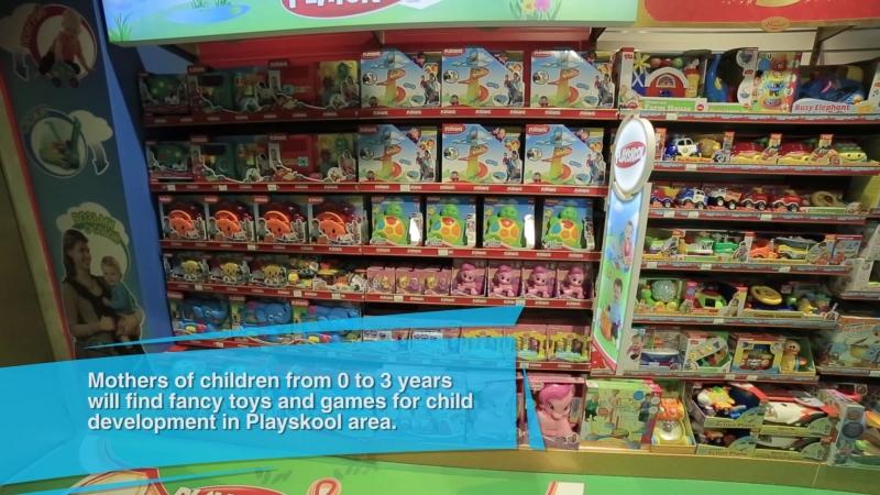 Сказочный мир детства в Hamleys.