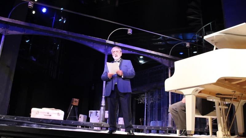 Выступление Юрия Лабецкого на юбилее