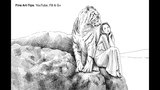 How to Draw a Tiger &amp Girl With a Glass Dip Pen &amp Indian Ink
