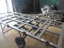 Самодельный стол кондуктор для сборки и сварки за 3000 рублей