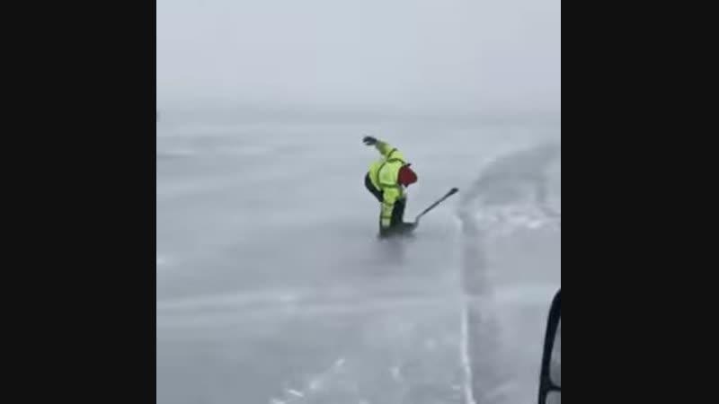 Ice gliding