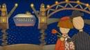 Coches de juguete. El puente levadizo. Dibujos animados para niños.