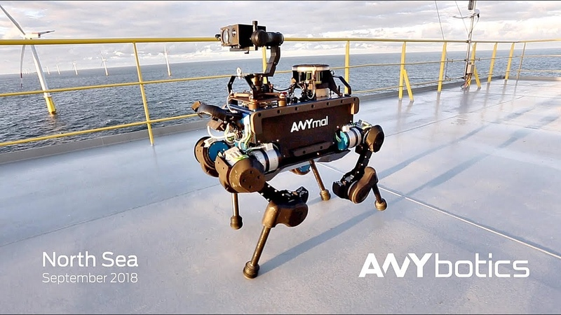 World's First Autonomous Offshore Robot – ANYmal